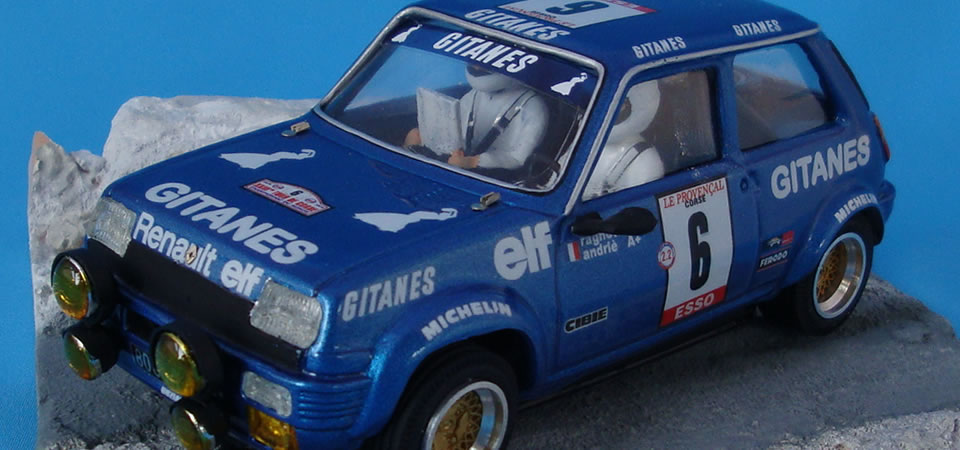 Renault 5 Gr.2 – RTR – Tour Corse – Ref: o004