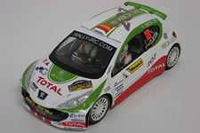Peugeot 207 Rally Barum 1/24