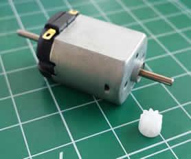 Motor caja corta