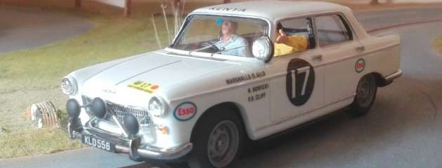 Peugeot 404 MiniReplicas, el rey de Africa